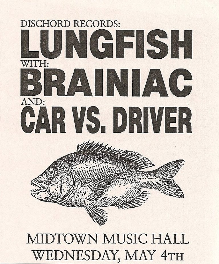 Lungfish with Brainiac and Car vs Driver