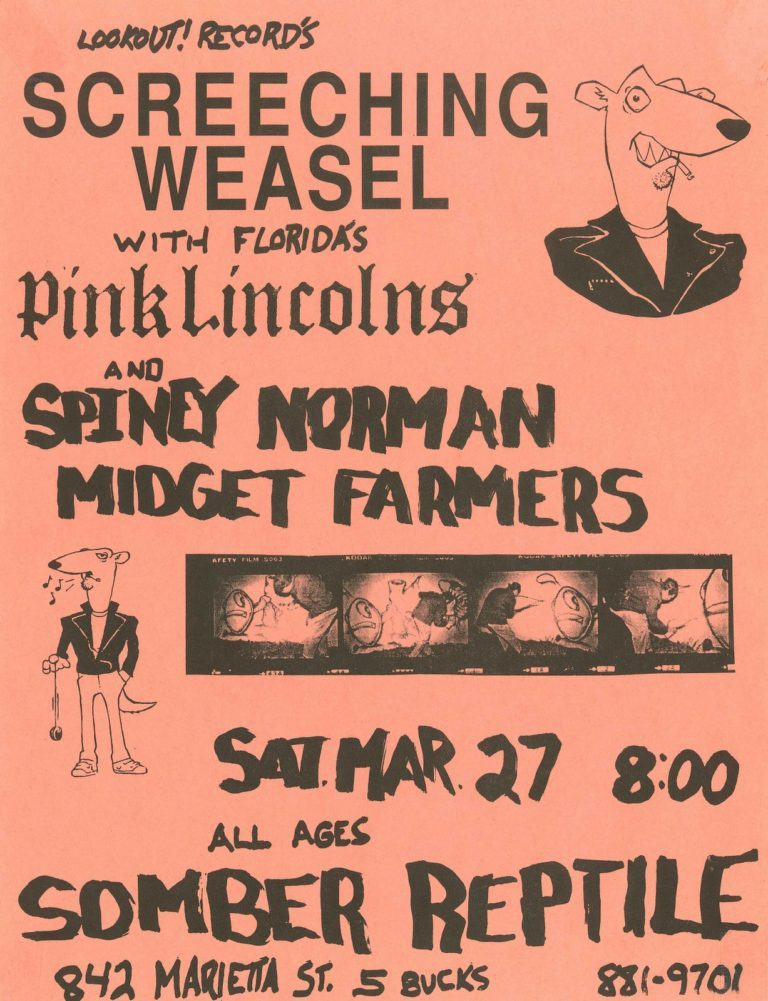 Screeching Weasel with Pink Lincolns